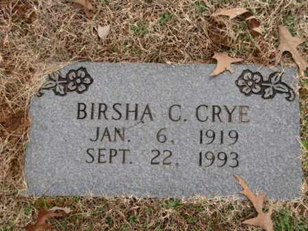 CRYE, BIRSHA C. - Blount County, Tennessee | BIRSHA C. CRYE - Tennessee Gravestone Photos