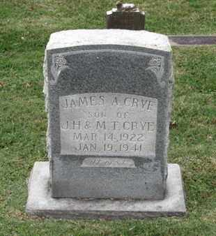 CRYE, JAMES A - Blount County, Tennessee | JAMES A CRYE - Tennessee Gravestone Photos