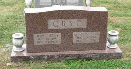 CRYE, JOHN HENRY - Blount County, Tennessee | JOHN HENRY CRYE - Tennessee Gravestone Photos