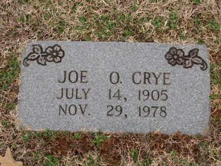 CRYE, JOE O. - Blount County, Tennessee   JOE O. CRYE - Tennessee Gravestone Photos