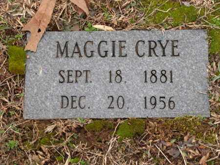 CRYE, MAGGIE - Blount County, Tennessee | MAGGIE CRYE - Tennessee Gravestone Photos
