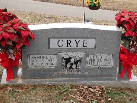 CRYE, SAMUEL L. - Blount County, Tennessee | SAMUEL L. CRYE - Tennessee Gravestone Photos