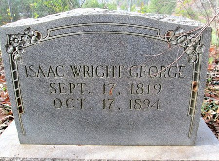 GEORGE, ISAAC WRIGHT - Blount County, Tennessee   ISAAC WRIGHT GEORGE - Tennessee Gravestone Photos