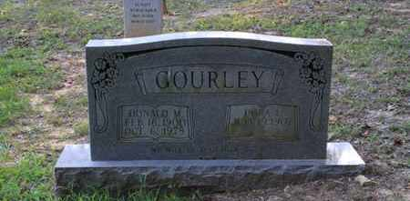 GOURLEY, DONALD M - Blount County, Tennessee   DONALD M GOURLEY - Tennessee Gravestone Photos