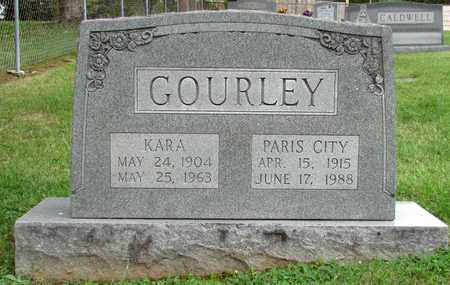 GOURLEY, PARIS CITY - Blount County, Tennessee | PARIS CITY GOURLEY - Tennessee Gravestone Photos