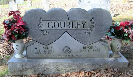 GOURLEY, WILLARD L - Blount County, Tennessee | WILLARD L GOURLEY - Tennessee Gravestone Photos