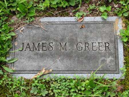 GREER, JAMES M. - Blount County, Tennessee   JAMES M. GREER - Tennessee Gravestone Photos