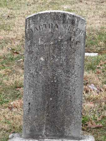 GREER, MARTHA - Blount County, Tennessee | MARTHA GREER - Tennessee Gravestone Photos