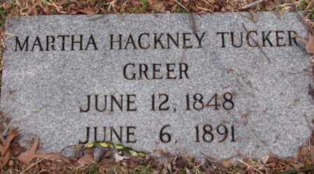 GREER, MARTHA - Blount County, Tennessee | MARTHA GREER - Tennessee Gravestone Photos