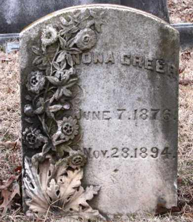 GREER, NONA - Blount County, Tennessee | NONA GREER - Tennessee Gravestone Photos