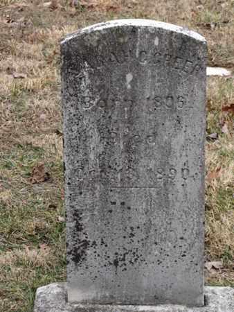 GREER, SARAH C - Blount County, Tennessee | SARAH C GREER - Tennessee Gravestone Photos