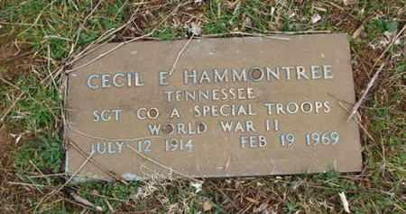 HAMMONTREE  (VETERAN WWII), CECIL E. - Blount County, Tennessee | CECIL E. HAMMONTREE  (VETERAN WWII) - Tennessee Gravestone Photos