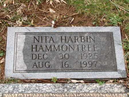 HARBIN HAMMONTREE, NITA (FOOTSTONE) - Blount County, Tennessee | NITA (FOOTSTONE) HARBIN HAMMONTREE - Tennessee Gravestone Photos