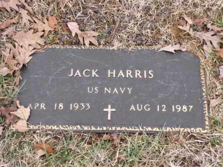 HARRIS  (VETERAN), JACK - Blount County, Tennessee | JACK HARRIS  (VETERAN) - Tennessee Gravestone Photos