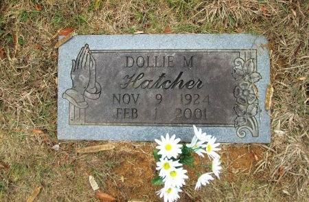 HATCHER, DOLLIE MAE - Blount County, Tennessee | DOLLIE MAE HATCHER - Tennessee Gravestone Photos