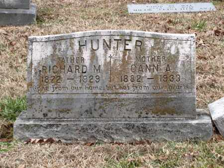 HUNTER, CANN A - Blount County, Tennessee | CANN A HUNTER - Tennessee Gravestone Photos