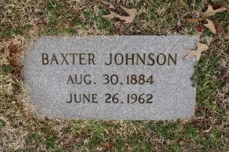 JOHNSON, BAXTER - Blount County, Tennessee | BAXTER JOHNSON - Tennessee Gravestone Photos
