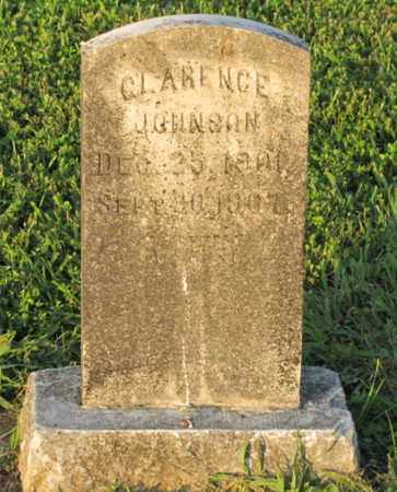 JOHNSON, CLARENCE - Blount County, Tennessee | CLARENCE JOHNSON - Tennessee Gravestone Photos