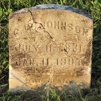 JOHNSON, G. W. - Blount County, Tennessee | G. W. JOHNSON - Tennessee Gravestone Photos