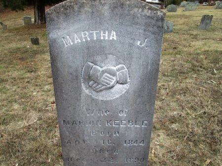 CLARK KEEBLE, MARTHA JANE - Blount County, Tennessee | MARTHA JANE CLARK KEEBLE - Tennessee Gravestone Photos