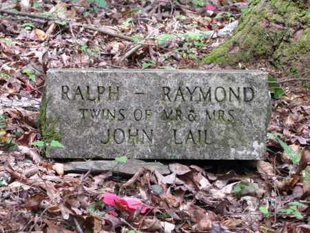 LAIL, RALPH - Blount County, Tennessee | RALPH LAIL - Tennessee Gravestone Photos