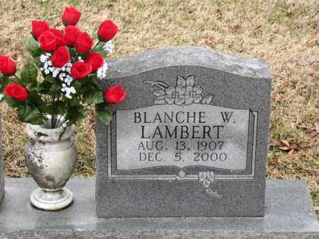 LAMBERT, BLANCHE W - Blount County, Tennessee | BLANCHE W LAMBERT - Tennessee Gravestone Photos