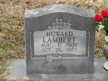 LAMBERT, HOWARD - Blount County, Tennessee   HOWARD LAMBERT - Tennessee Gravestone Photos