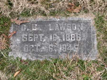 LAWSON, C E - Blount County, Tennessee | C E LAWSON - Tennessee Gravestone Photos