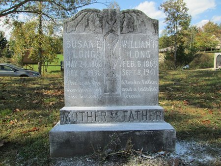 LONG, WILLIAM H - Blount County, Tennessee | WILLIAM H LONG - Tennessee Gravestone Photos