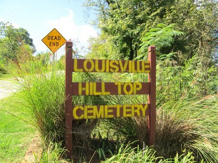 *LOUISVILLE HILL TOP CEMETERY, . - Blount County, Tennessee | . *LOUISVILLE HILL TOP CEMETERY - Tennessee Gravestone Photos