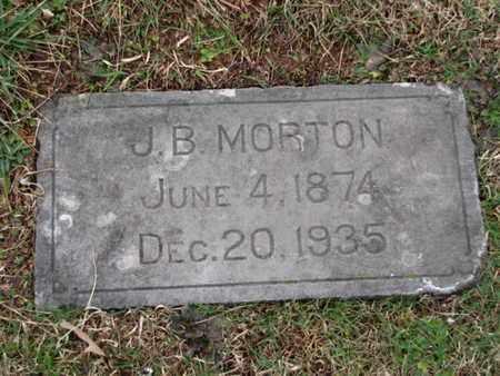 MORTON, J. B. - Blount County, Tennessee | J. B. MORTON - Tennessee Gravestone Photos