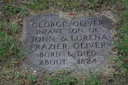OLIVER, GEORGE - Blount County, Tennessee | GEORGE OLIVER - Tennessee Gravestone Photos