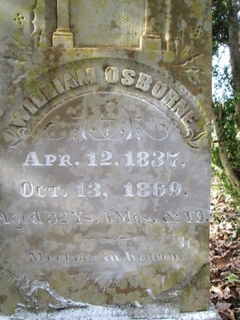 OSBORNE, WILLIAM - Blount County, Tennessee   WILLIAM OSBORNE - Tennessee Gravestone Photos