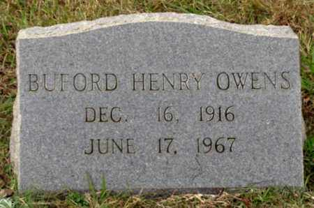 OWENS, BUFORD HENRY - Blount County, Tennessee | BUFORD HENRY OWENS - Tennessee Gravestone Photos
