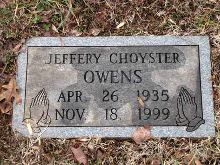 OWENS, JEFFERY CHOYSTER - Blount County, Tennessee | JEFFERY CHOYSTER OWENS - Tennessee Gravestone Photos
