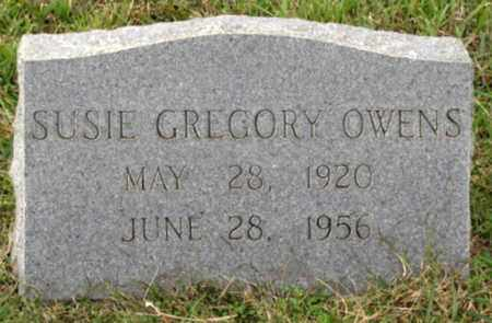 GREGORY OWENS, SUSIE - Blount County, Tennessee   SUSIE GREGORY OWENS - Tennessee Gravestone Photos