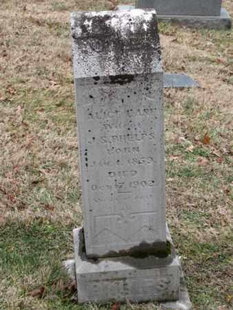 PHELPS, ALICE - Blount County, Tennessee | ALICE PHELPS - Tennessee Gravestone Photos