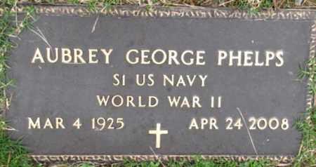 PHELPS (VETERAN WWII), AUBREY GEORGE - Blount County, Tennessee   AUBREY GEORGE PHELPS (VETERAN WWII) - Tennessee Gravestone Photos