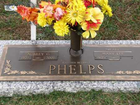PHELPS, AUBREY GEORGE - Blount County, Tennessee | AUBREY GEORGE PHELPS - Tennessee Gravestone Photos