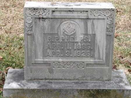 PHELPS, R P - Blount County, Tennessee   R P PHELPS - Tennessee Gravestone Photos