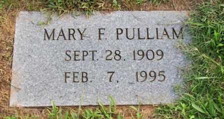 PULLIAM, MARY F. - Blount County, Tennessee | MARY F. PULLIAM - Tennessee Gravestone Photos