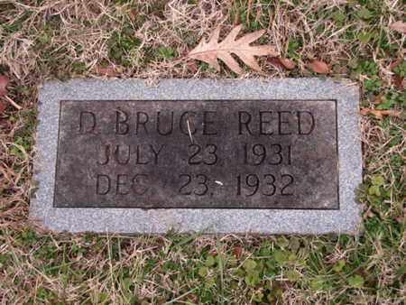 REED, D BRUCE - Blount County, Tennessee | D BRUCE REED - Tennessee Gravestone Photos