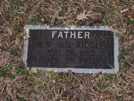 """RIDDLE, R W """"BOB"""" - Blount County, Tennessee   R W """"BOB"""" RIDDLE - Tennessee Gravestone Photos"""