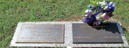 ROREX, JR (VETERAN WWII), GEORGE L - Blount County, Tennessee | GEORGE L ROREX, JR (VETERAN WWII) - Tennessee Gravestone Photos