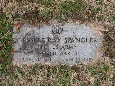 SPANGLER  (VETERAN WWII), ORVILLE RAY - Blount County, Tennessee | ORVILLE RAY SPANGLER  (VETERAN WWII) - Tennessee Gravestone Photos