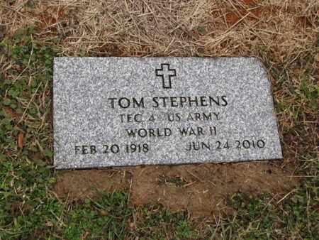 STEPHENS  (VETERAN WWII), TOM - Blount County, Tennessee | TOM STEPHENS  (VETERAN WWII) - Tennessee Gravestone Photos