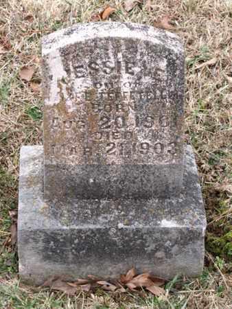 TEFFETELLER, JESSIE E - Blount County, Tennessee | JESSIE E TEFFETELLER - Tennessee Gravestone Photos