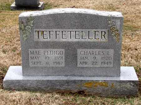 TEFFETELLER, CHARLES L. - Blount County, Tennessee | CHARLES L. TEFFETELLER - Tennessee Gravestone Photos