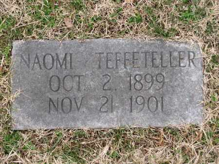 TEFFETELLER, NAOMI - Blount County, Tennessee   NAOMI TEFFETELLER - Tennessee Gravestone Photos
