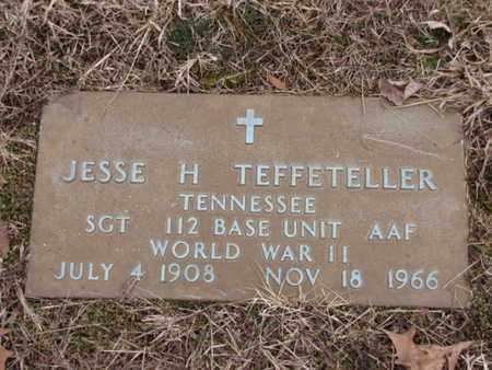 TEFFETELLER  (VETERAN WWII), JESSE H - Blount County, Tennessee | JESSE H TEFFETELLER  (VETERAN WWII) - Tennessee Gravestone Photos